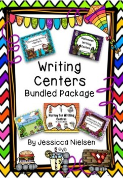 Writing Centers Bundled Package (5 products in 1)