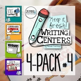Writing Centers: Keep It Fresh! {4-Pack #4}