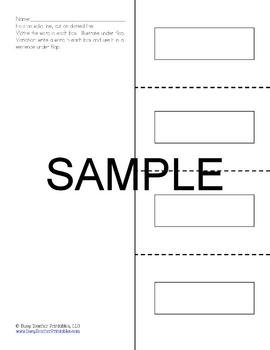 Writing Centers - Printable, Ready to Use! PreK-1 Literacy Centers
