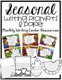 Writing Centers : Seasonal Prompts and Paper