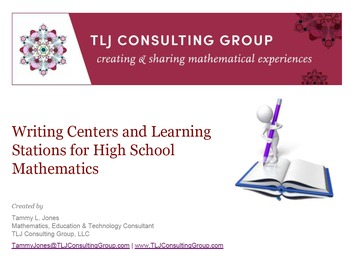 Writing Centers and Learning Stations for HS Mathematics