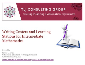 Writing Centers and Learning Stations for Intermediate Mat