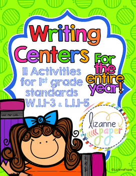 Writing Centers for the Entire Year