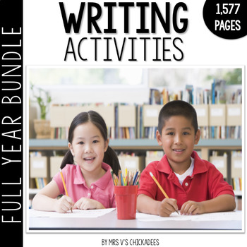 Writing Centers for the Year Growing BUNDLE