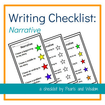 "Writing Check List and Anchor Charts Bundle - With ""I Can"" Statements"