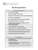 STAAR Writing - Checklist