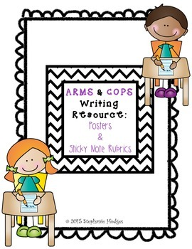 Writing Checklist (ARMS & COPS)