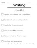Writing Checklist - Basic