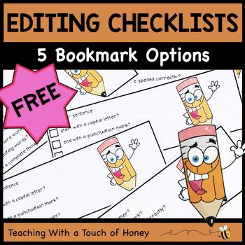 Writing Activities | Editing Practice | Editing Activities | FREEBIE