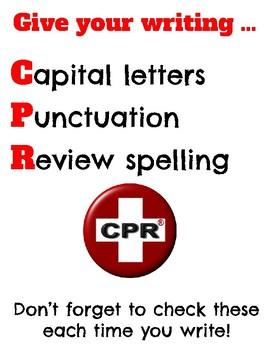 Writing Checklist CPR