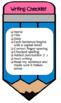 Writing Checklist Cards