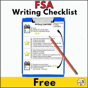 FSA Writing Checklist