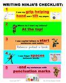 Writing Checklist, Grade 1