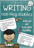 Writing Checklist - Non-Negotiables {FREE}