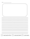 Writing Checklist Paper - Stars