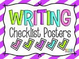 Writing Checklist Posters