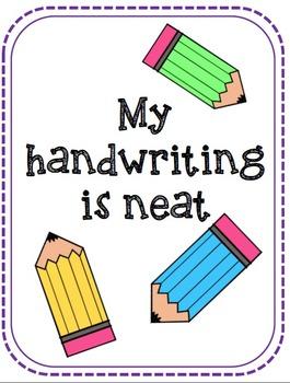Writing Checklist Printables!