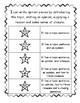 Writing Checklist Self Assessment