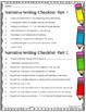 Writing Checklist-Self-Editing and Peer Editing Rubric