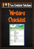 Writing Checklist - Space Theme