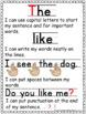 Writing Checklist for Beginning Writers FREEBIE Print Font