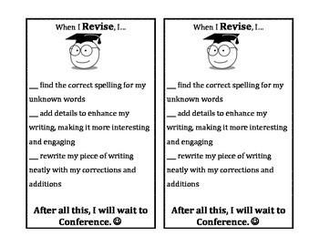 Writing Checklists