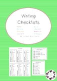 Writing Checklists for Different Text Types