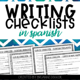 Writing Checklists IN SPANISH - Third Grade