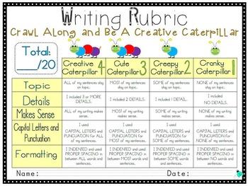 Writing Checklists and Rubrics