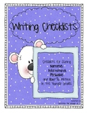 Writing Checklists for all Genres, Grades 1-3