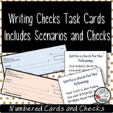 Writing Checks-Task Cards