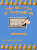 Writing Checks Writing Cheques Advanced Distance Learning