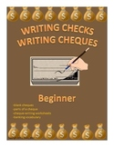 Writing Checks Writing Cheques Beginner Distance Learning
