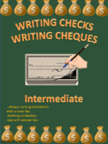 Writing Checks Writing Cheques Intermediate Distance Learning