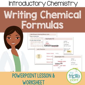 Chemistry: Writing Chemical Formulas