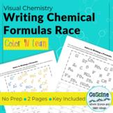 Writing Chemical Formulas Race