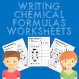 Writing Chemical Formulas Worksheets MS-PS1-1
