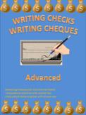 Writing Checks Writing Cheques Advanced