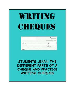 Writing Cheques: Career Exploration