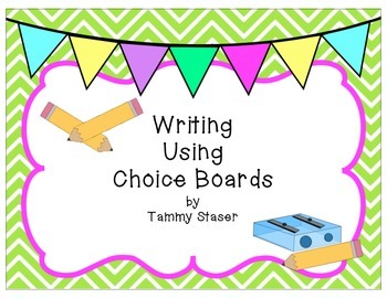 Writing Choice Boards