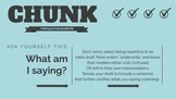 Writing Chunk Task Cards: Making Your Paragraphs Fat (Revision) Task Cards