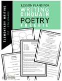 Writing Cinquain Poems FREEBIE for Grades 1-5