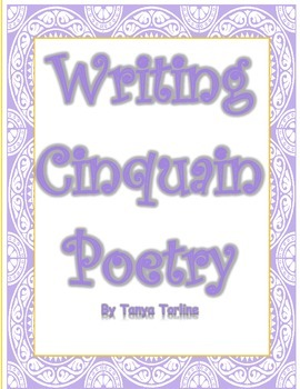 Writing Cinquain Poetry