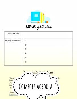 Writing Circles Binder (Argumentative/Opinion Writing)