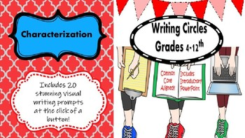 Writing Circles: Characterization Prompts