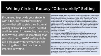 Writing Circles: Fantasy Setting Prompts
