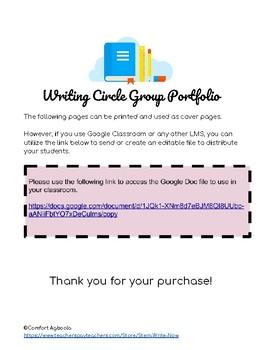 Writing Circles Group Portfolios