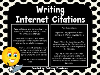 Writing Citations Made Easy