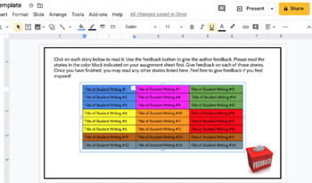 Writing Classroom Distance Learning Plan