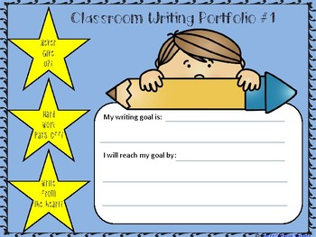 Writing Classroom Portfolio #1